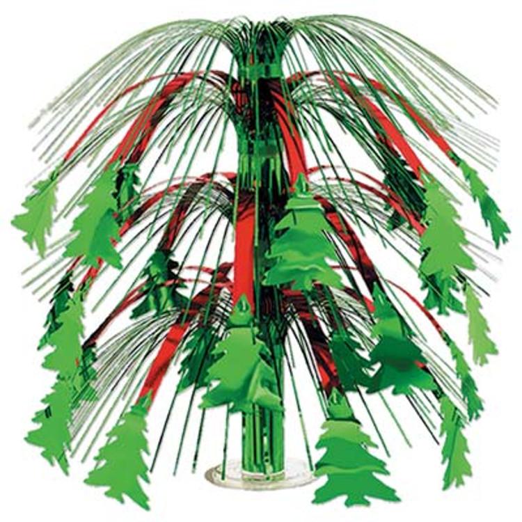 Christmas Tree Cascade Centrepeice