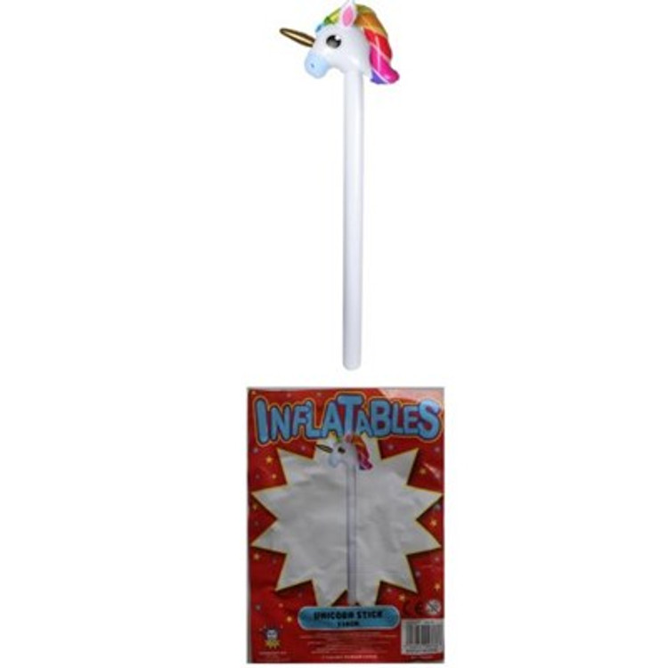 Inflatable Unicorn Stick
