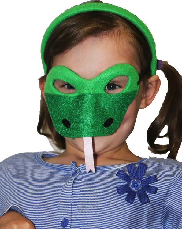 Snake Animal Headband & Mask Set