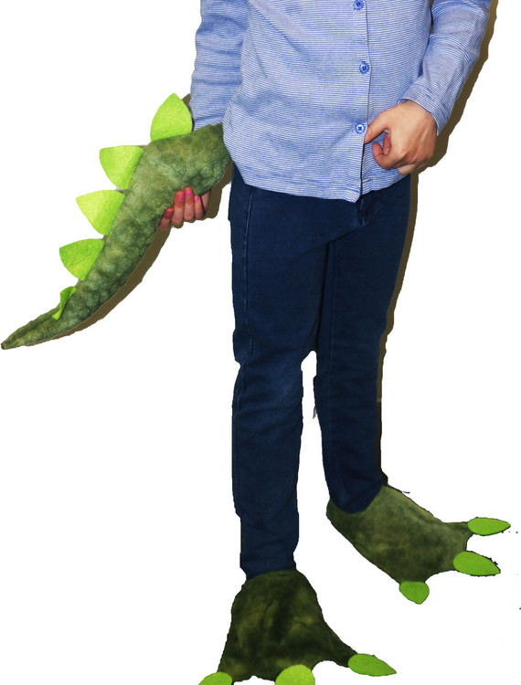 Dinosaur Feet & Tail Set