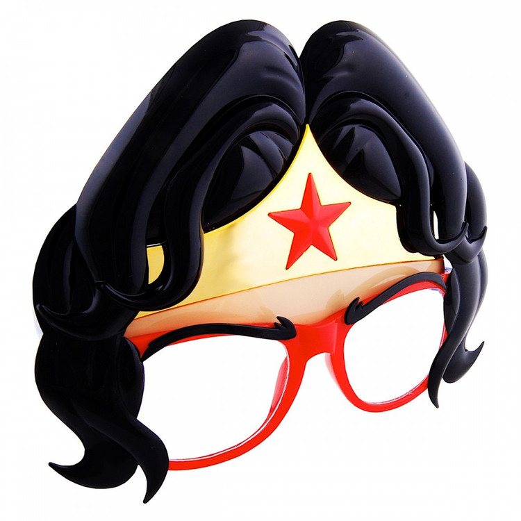 Wonder Woman Hair SunStaches