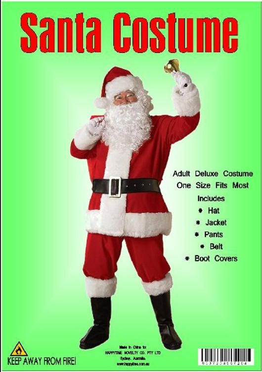 Santa Suit Deluxe Velour