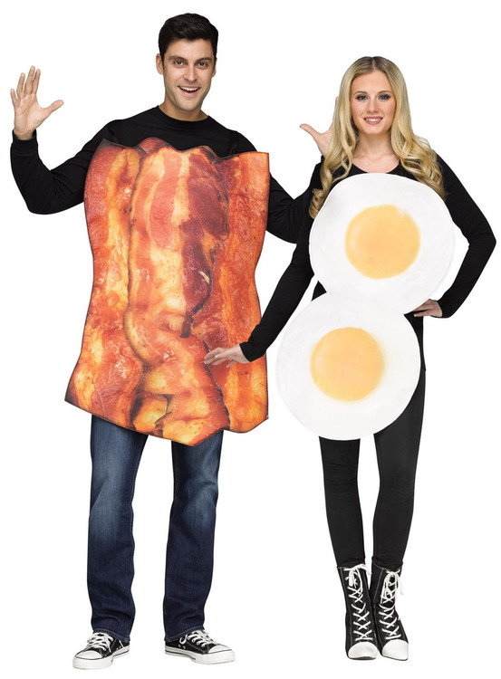Bacon & Eggs Adult Costume