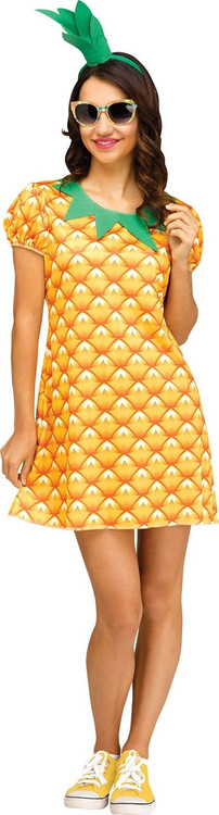 Pineapple Sweetie Womens  Costume