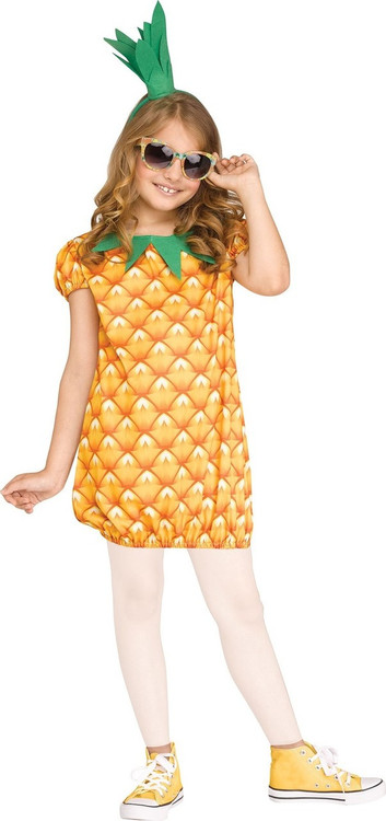 Pineapple Sweetie Girls Costume