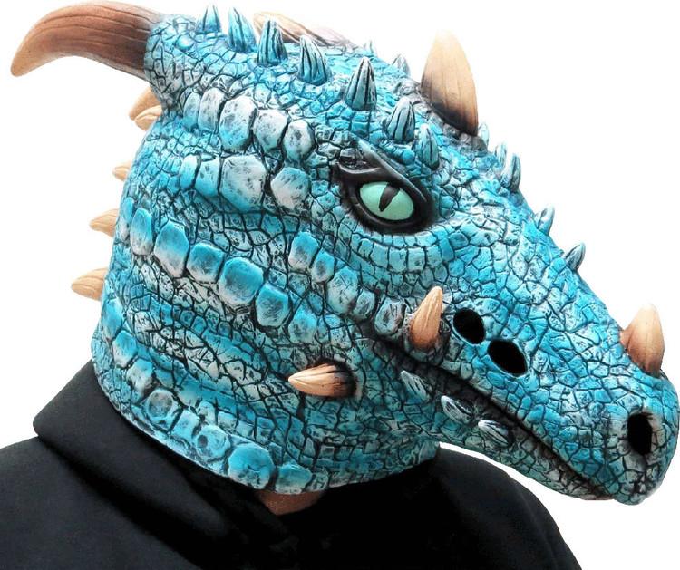 Ice Dragon Animal Mask