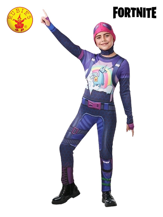 Fortnite - Brite Bomber Girls Tween Costume