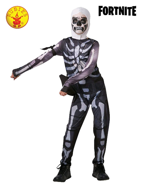 Fortnite - Skull Trooper Boys Tween Costume