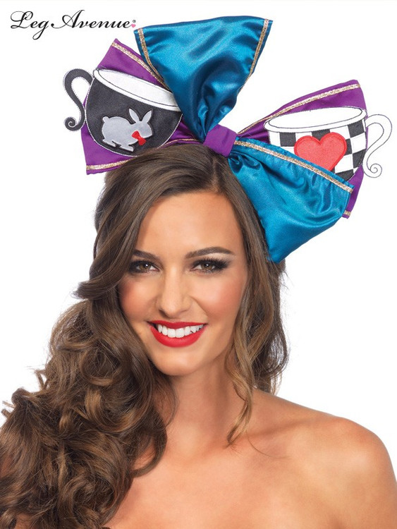 Alice in Wonderland Tea Party Bow