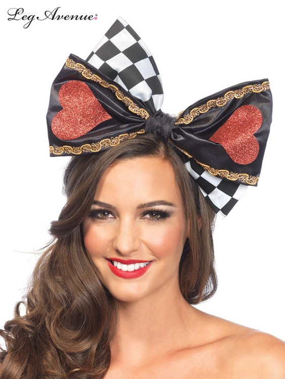 Alice in Wonderland Queen of Hearts Bow