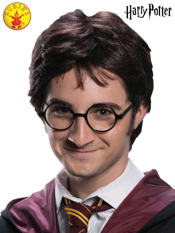 Harry Potter Wig & Scar Tattoo