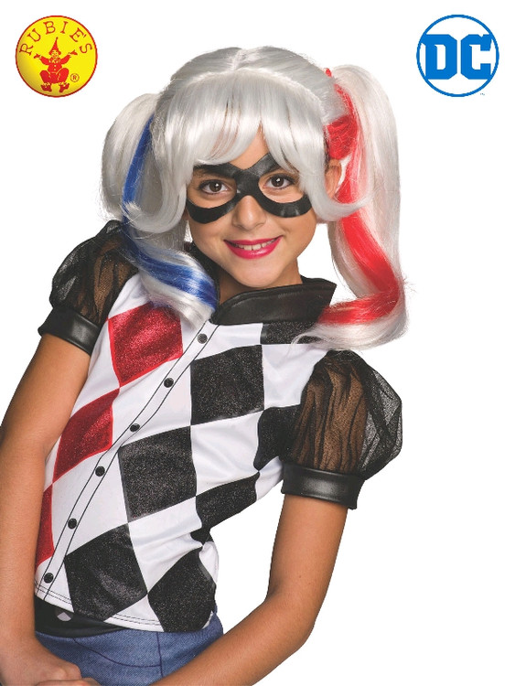 Harley Quinn Wig Child