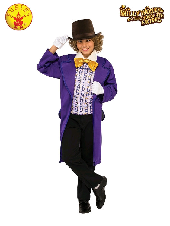 Willy Wonka Deluxe Child Costume