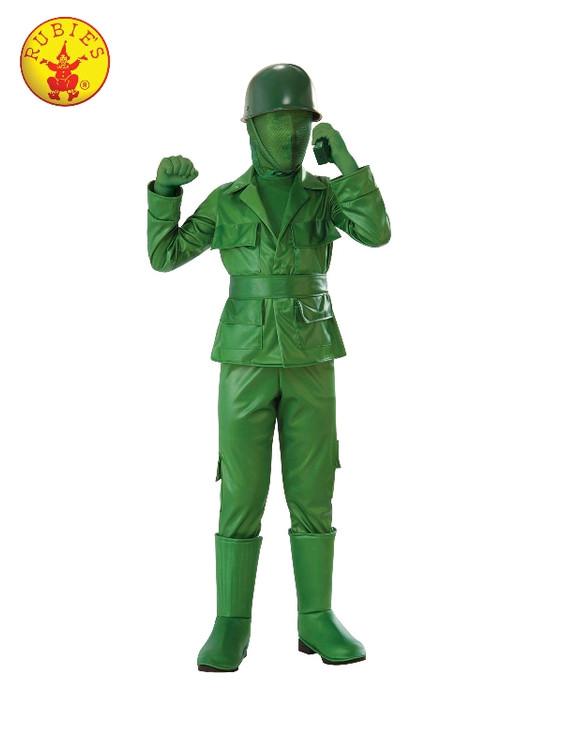 Green Army Man Boys Costume