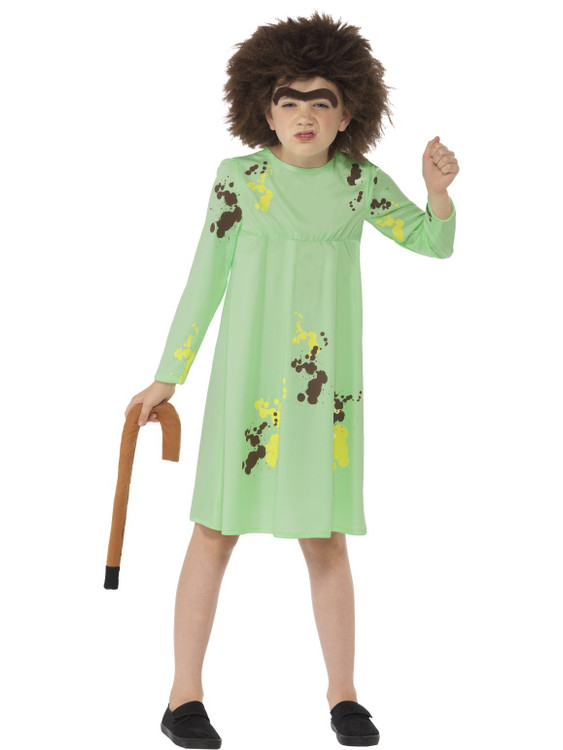 Roald Dahl Mrs Twit Kids Costume