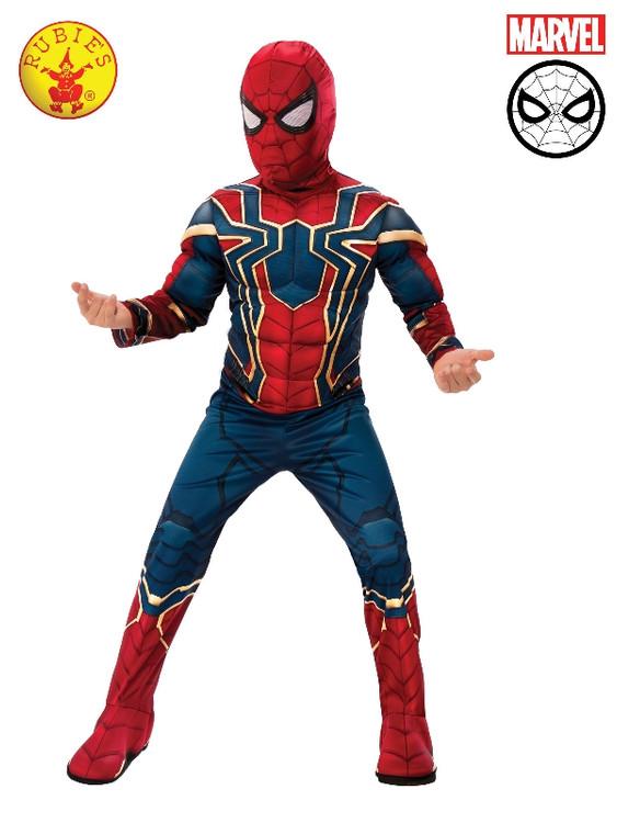 Spiderman - Iron Spider Deluxe Boys Costume