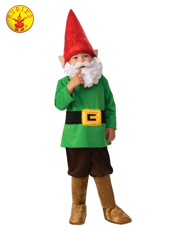 Garden Gnome Boys Costume