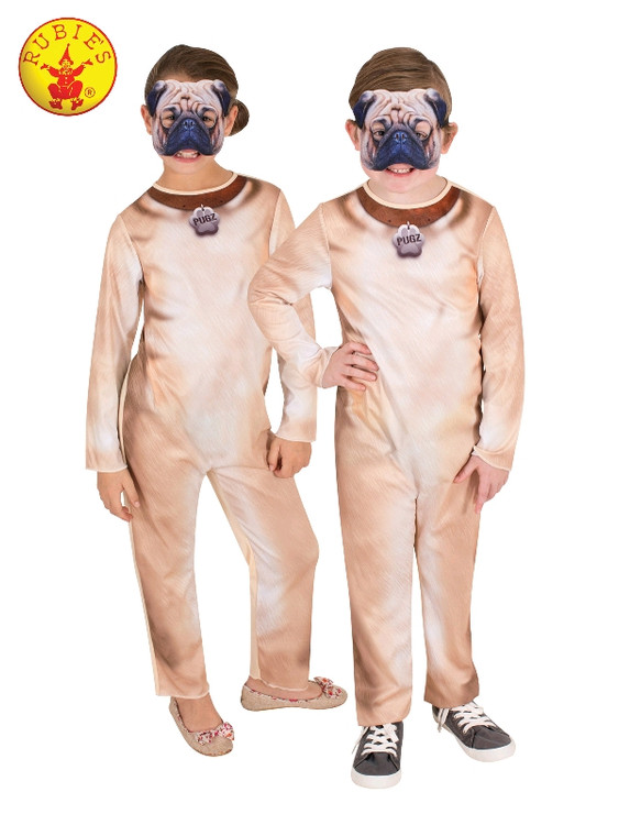 Pug Dog Child Costume