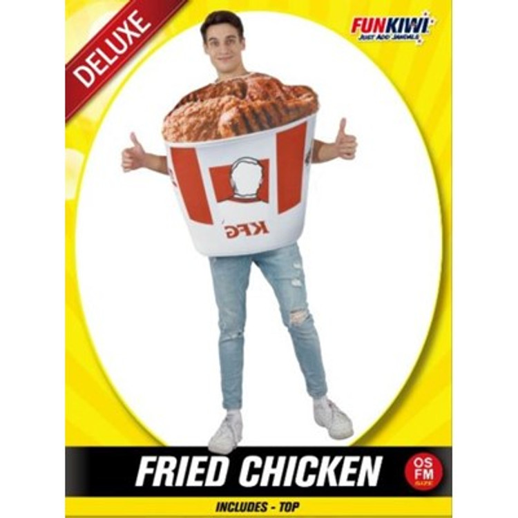 Fried Chicken Adult Costume