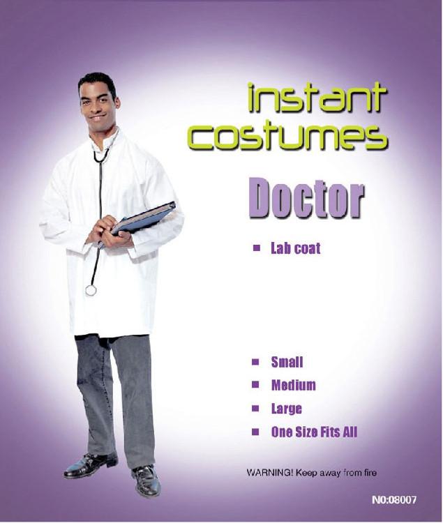 Scientist Lab Coat Adult
