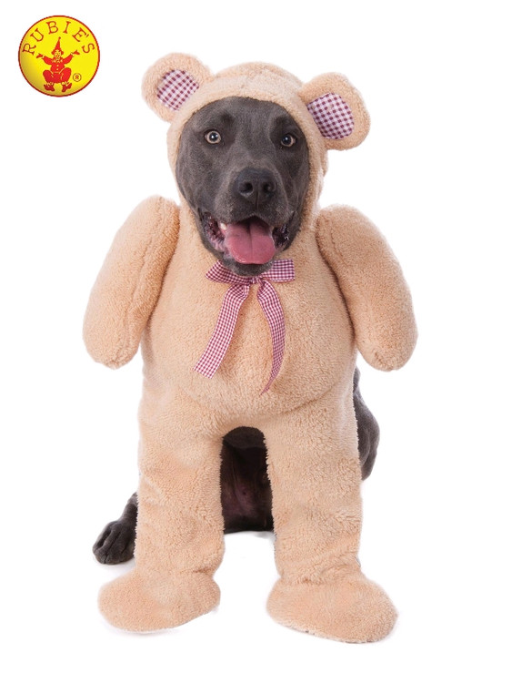 Walking Teddy Bear Large Dog Costume