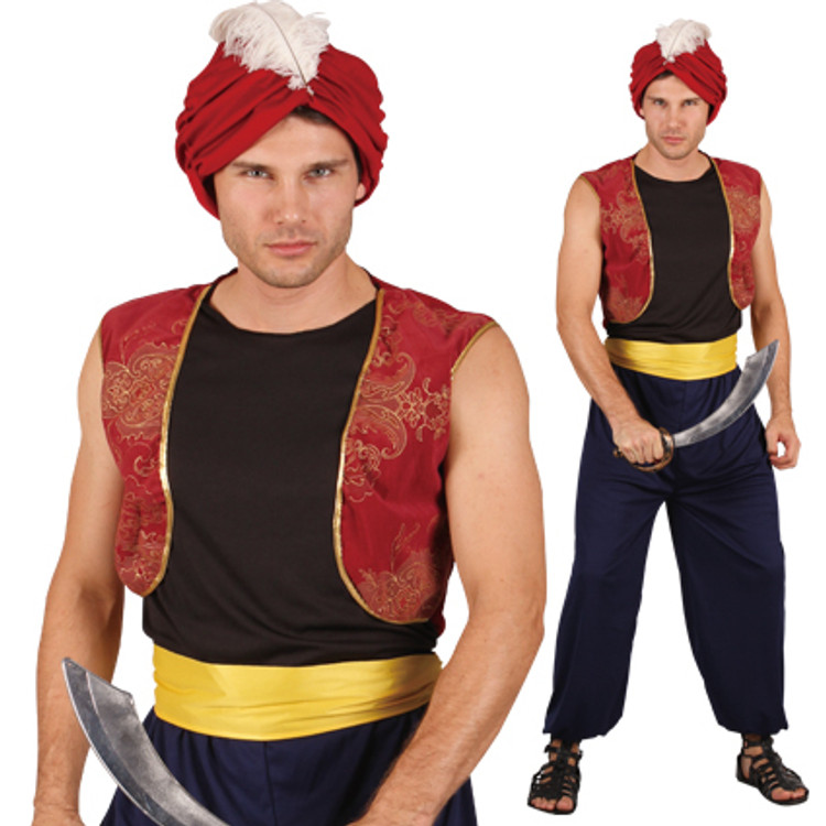 Aladdin Persian Prince Mens Costume