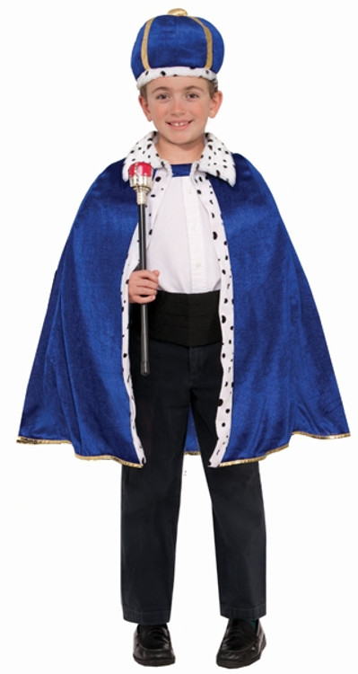 King Robe & Crown Costume Child