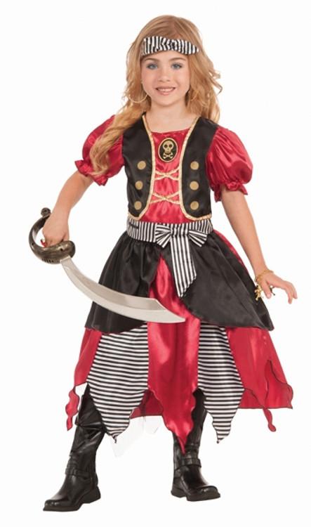Pirate Buccaneer Princess Girls Costume