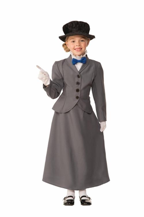 English Nanny Girls Costume