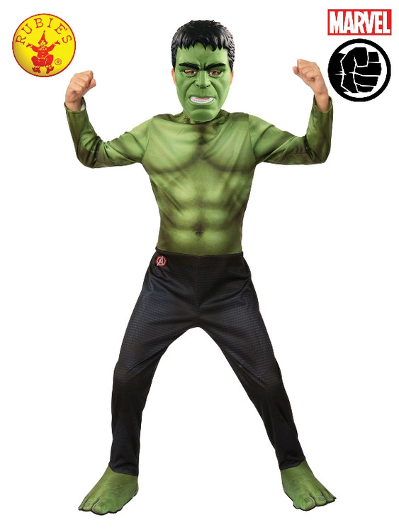 Hulk The Avengers Kids Classic Costume