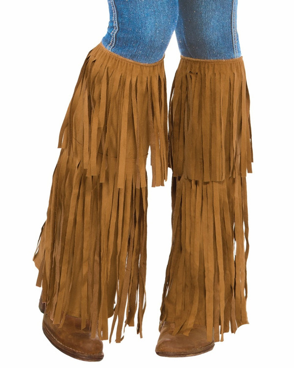 1960's Hippie Fringed Boot Tops