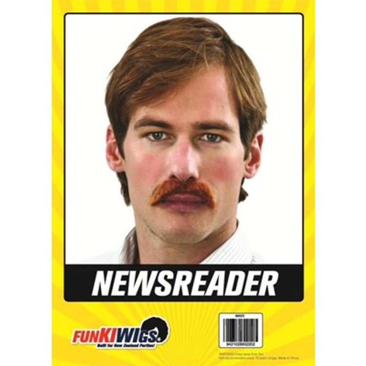 Moustache - The News Reader