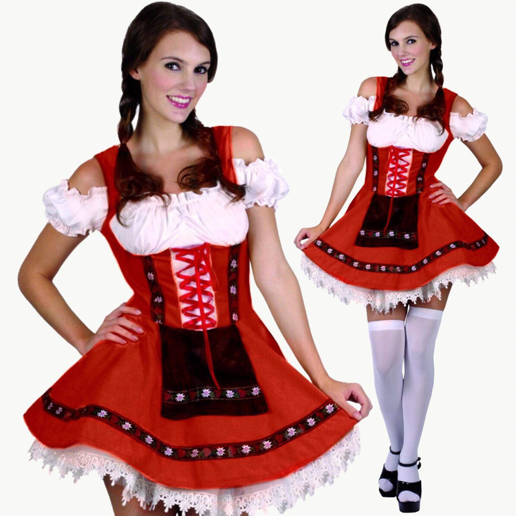 Oktoberfest Sweet Maiden Costume