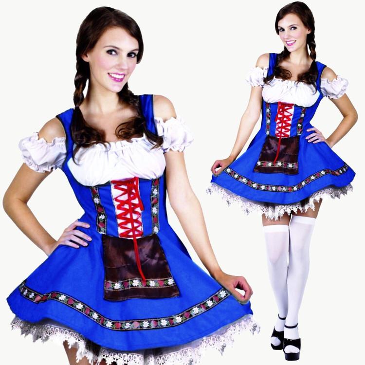 Oktoberfest Heidi Girl Costume