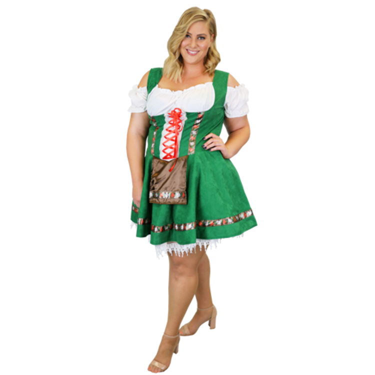 Oktoberfest Gretel Plus Size Costume