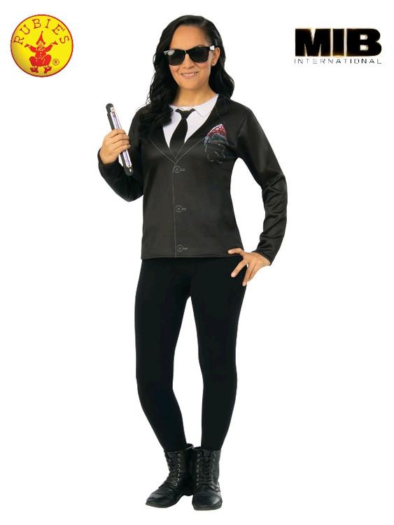 Agent M Men in Black Womens Costume