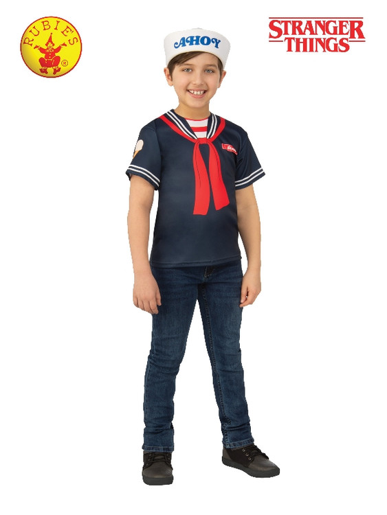 Stranger Things Steve Scoops Ahoy Kids Costume