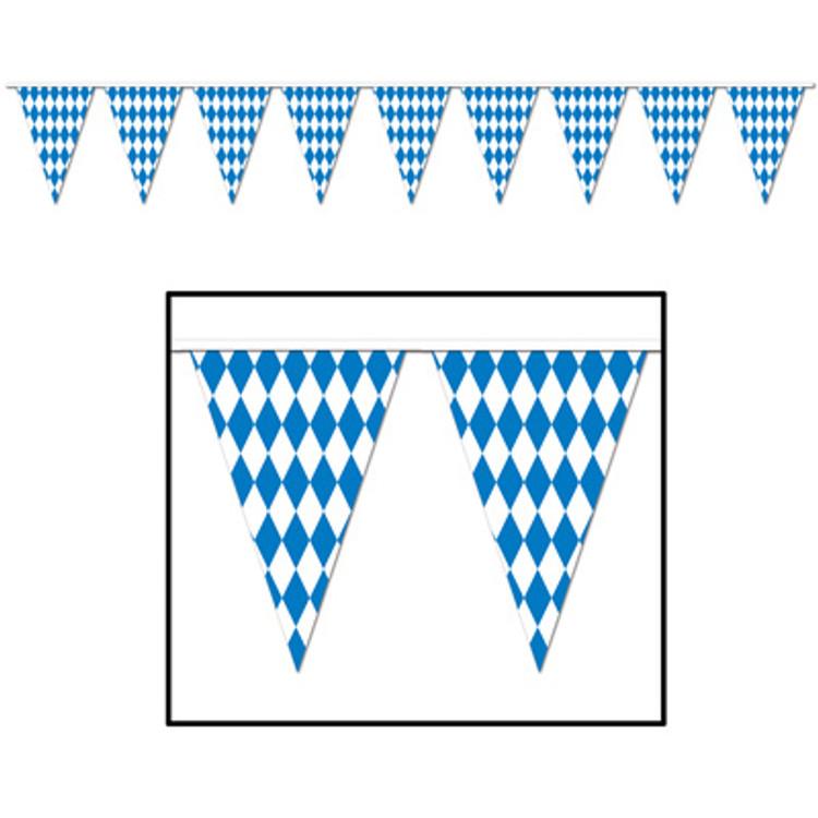 German Oktoberfest Pennant Banner 30m