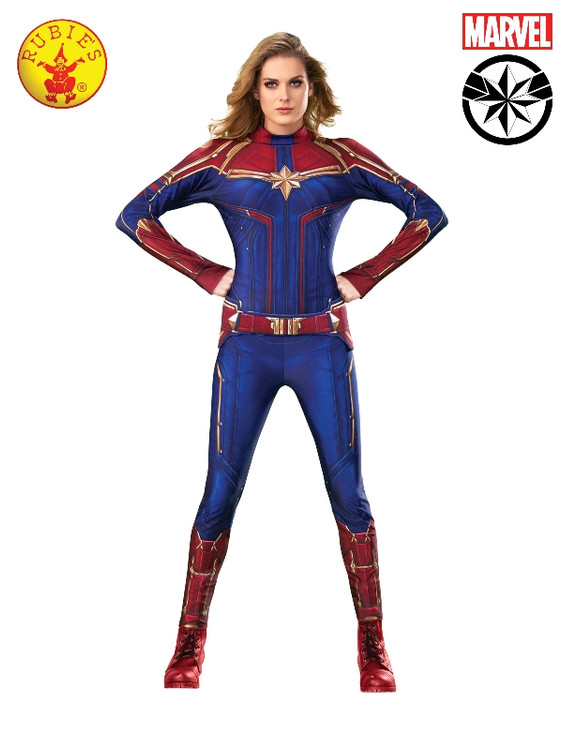 Captain Marvel Deluxe Womens Costume