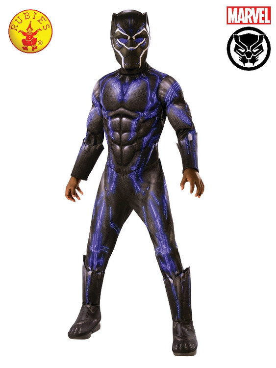 Black Panther Battle Suit Boys Costume