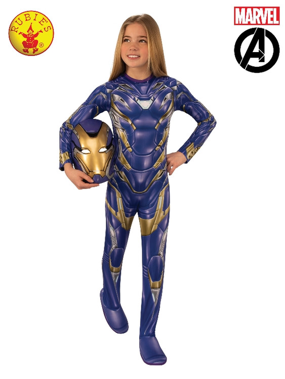 Iron-man Rescue Girls Costume
