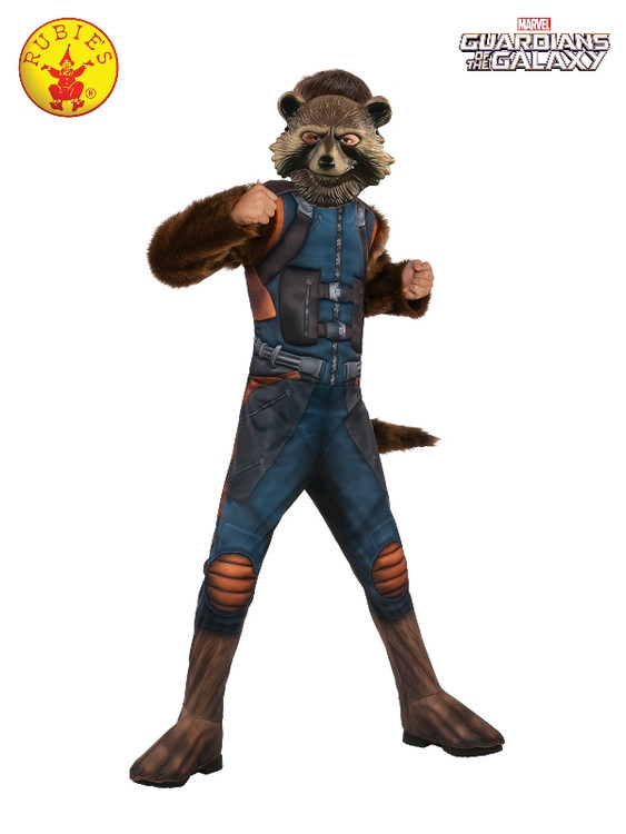 Guardians of the Galaxy - Rocket Racoon Deluxe Kids Costume
