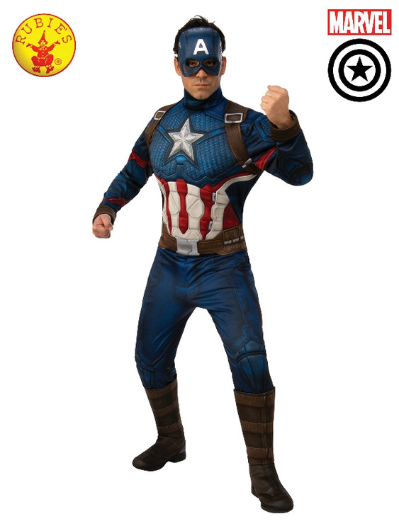 Captain America Deluxe Mens Costume