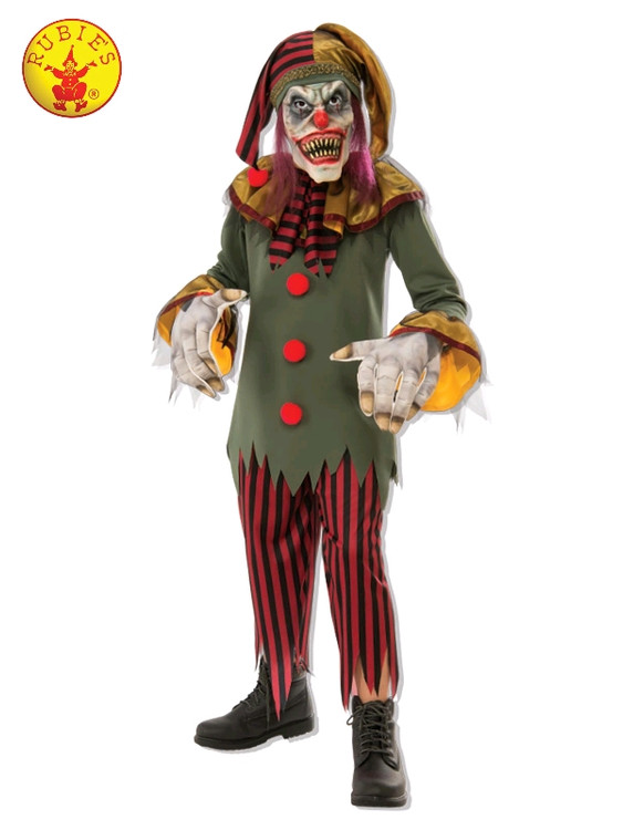 Clown Crazy Kids Costume