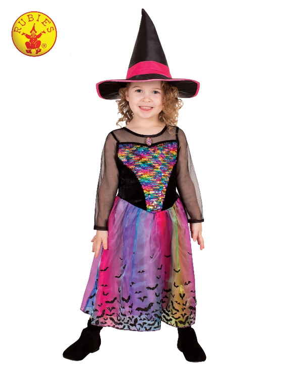 Witch Rainbow Girls Costume