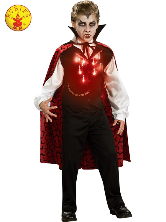 Vampire Lightup Kids Costume