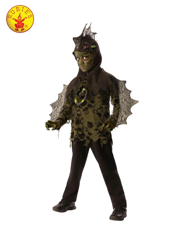Swamp Boy Lizard Kids Costume