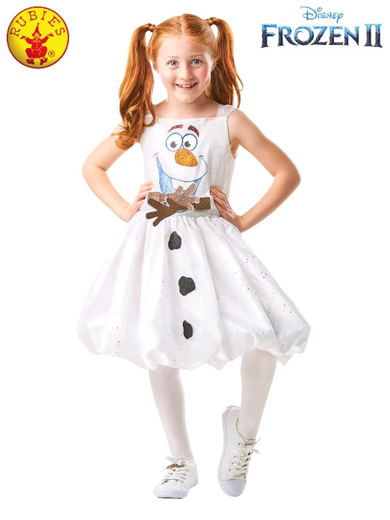 Frozen 2 Olaf Tutu Girls Costume