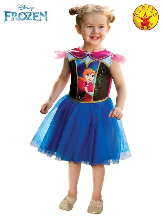 Frozen Anna Girls Toddler Costume