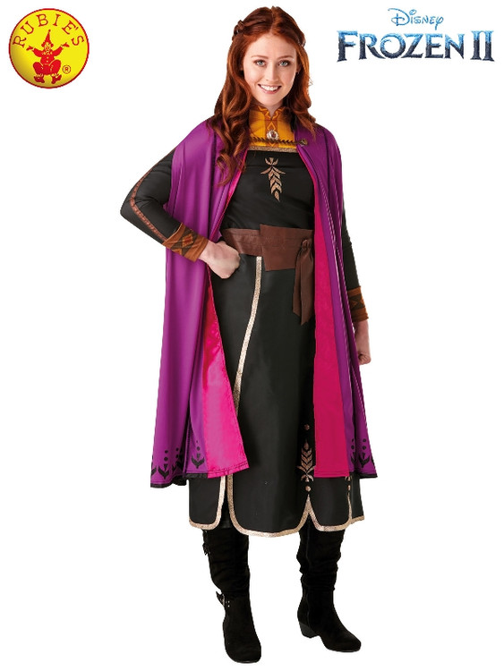 Frozen 2 Anna Deluxe Womens Costume